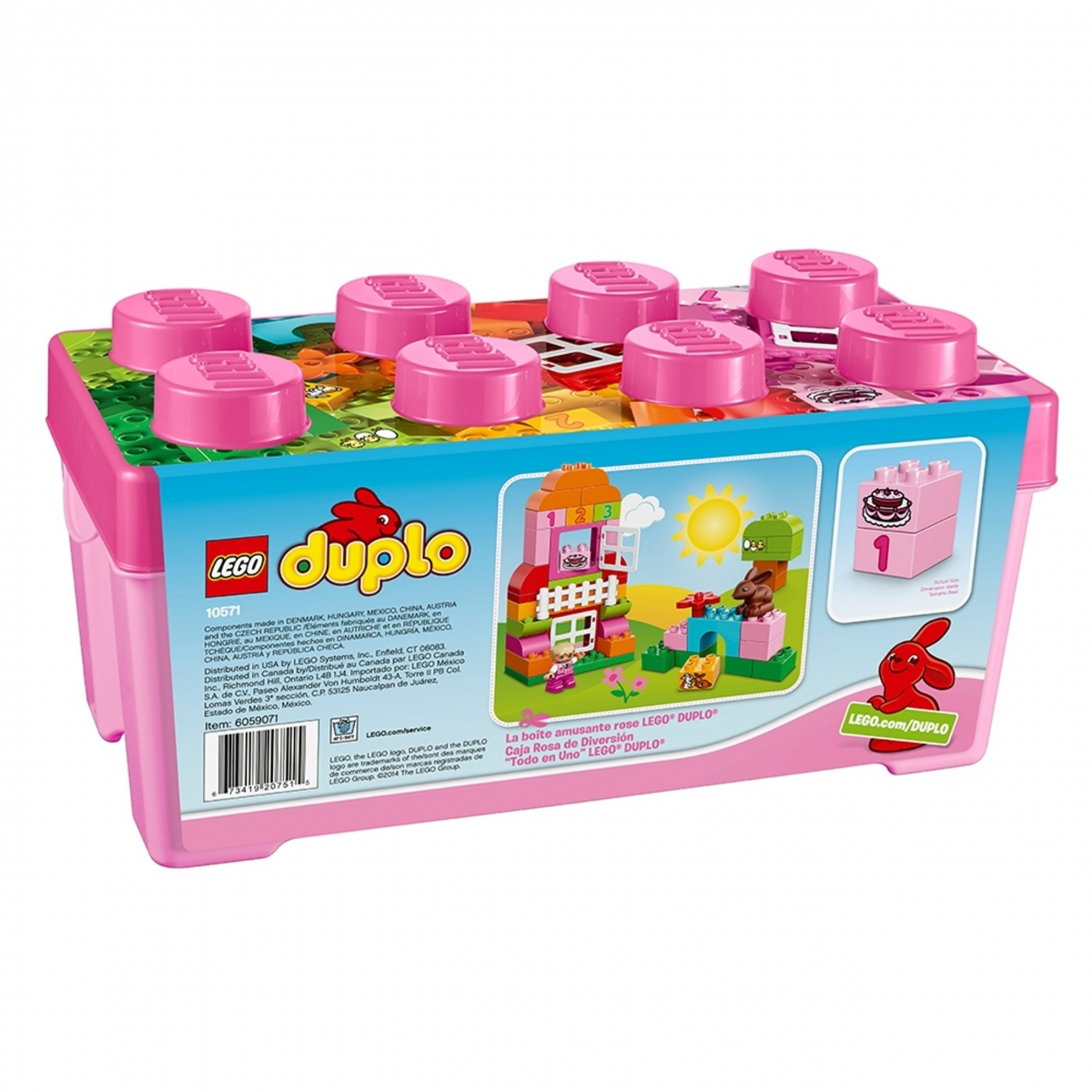 duplo 10571 all in one pink box of fun scaled