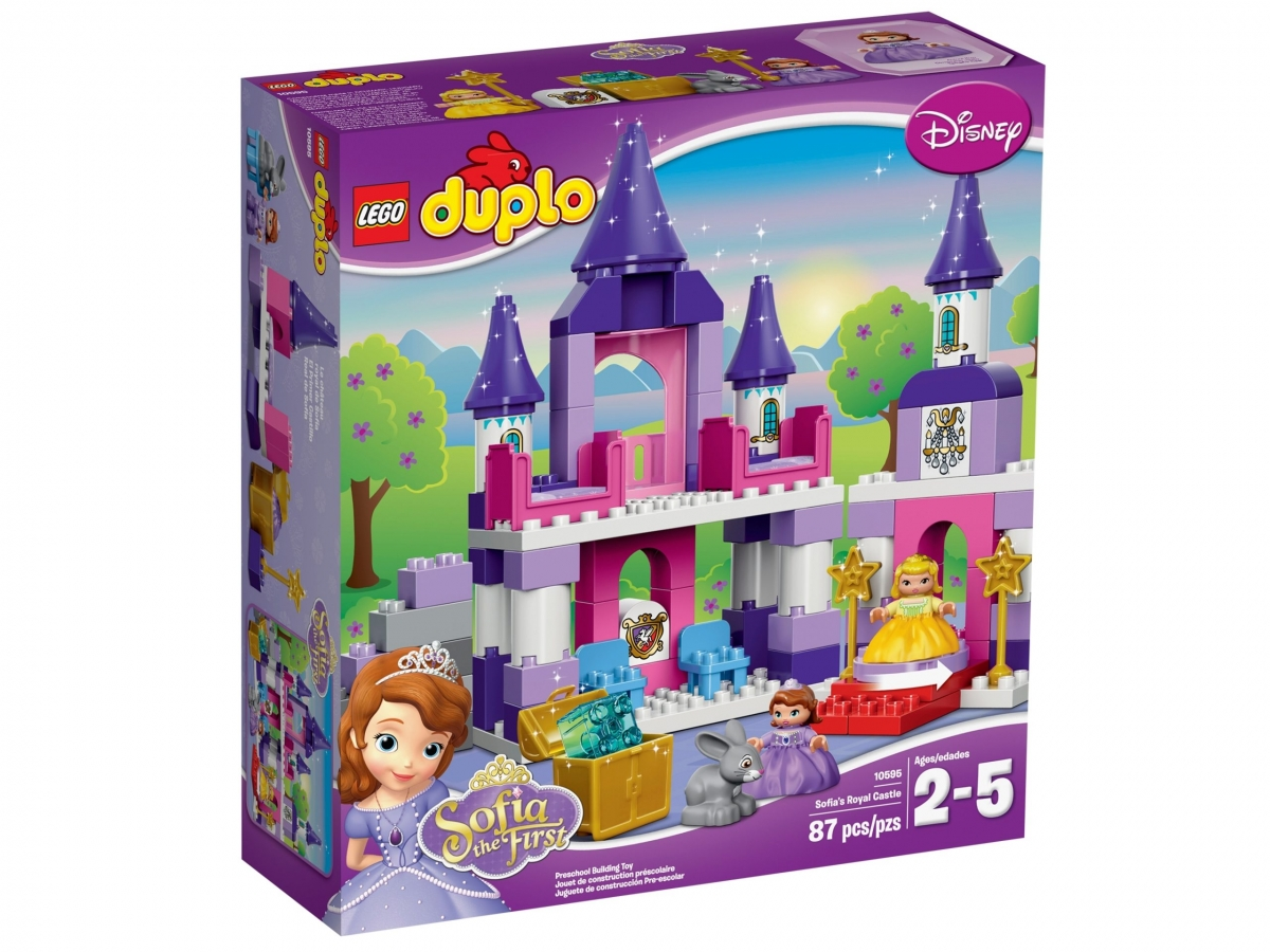 lego 10595 sofia the first royal castle scaled