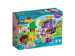 lego 10605 doc mcstuffins rosie the ambulance