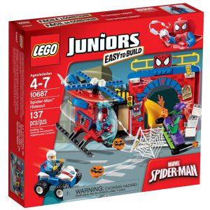 lego 10687 spider man hideout