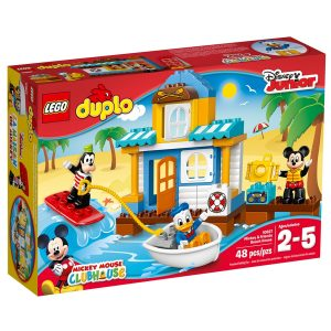 lego 10827 mickey friends beach house