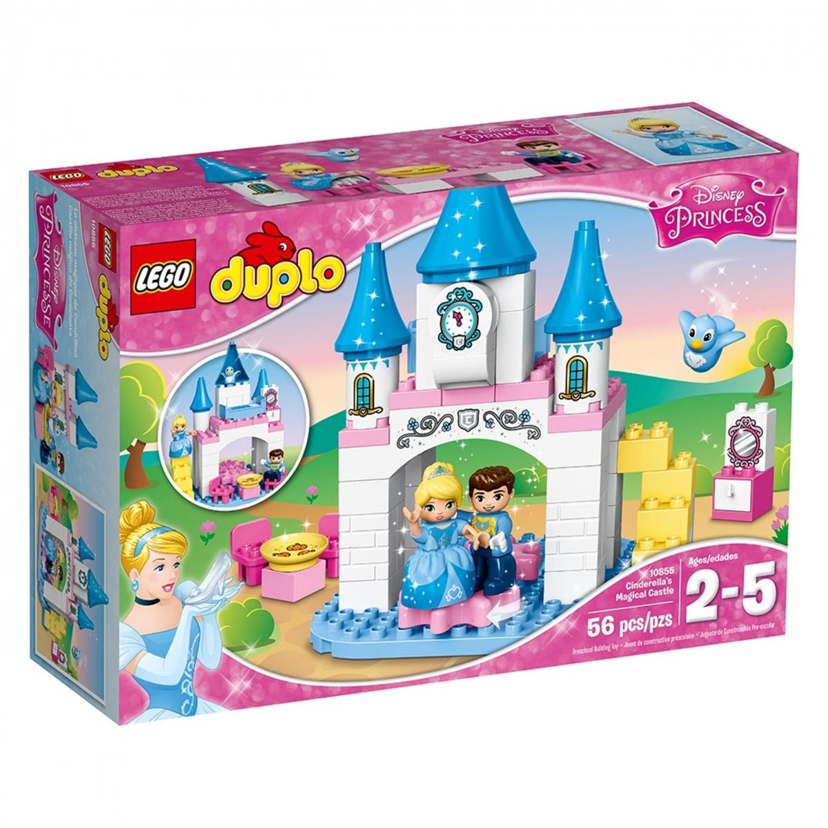 lego 10855 cinderellas magical castle scaled