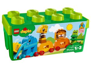 lego 10863 my first animal brick box