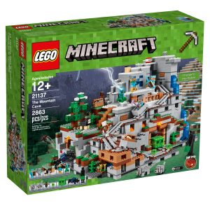 lego 21137 the mountain cave