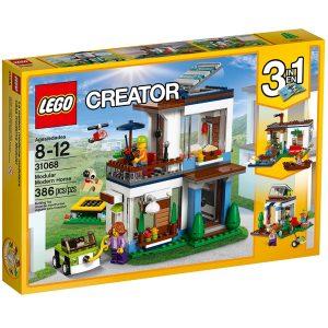 lego 31068 modular modern home