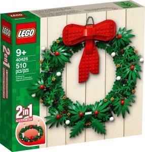 lego 40426 christmas wreath 2 in 1