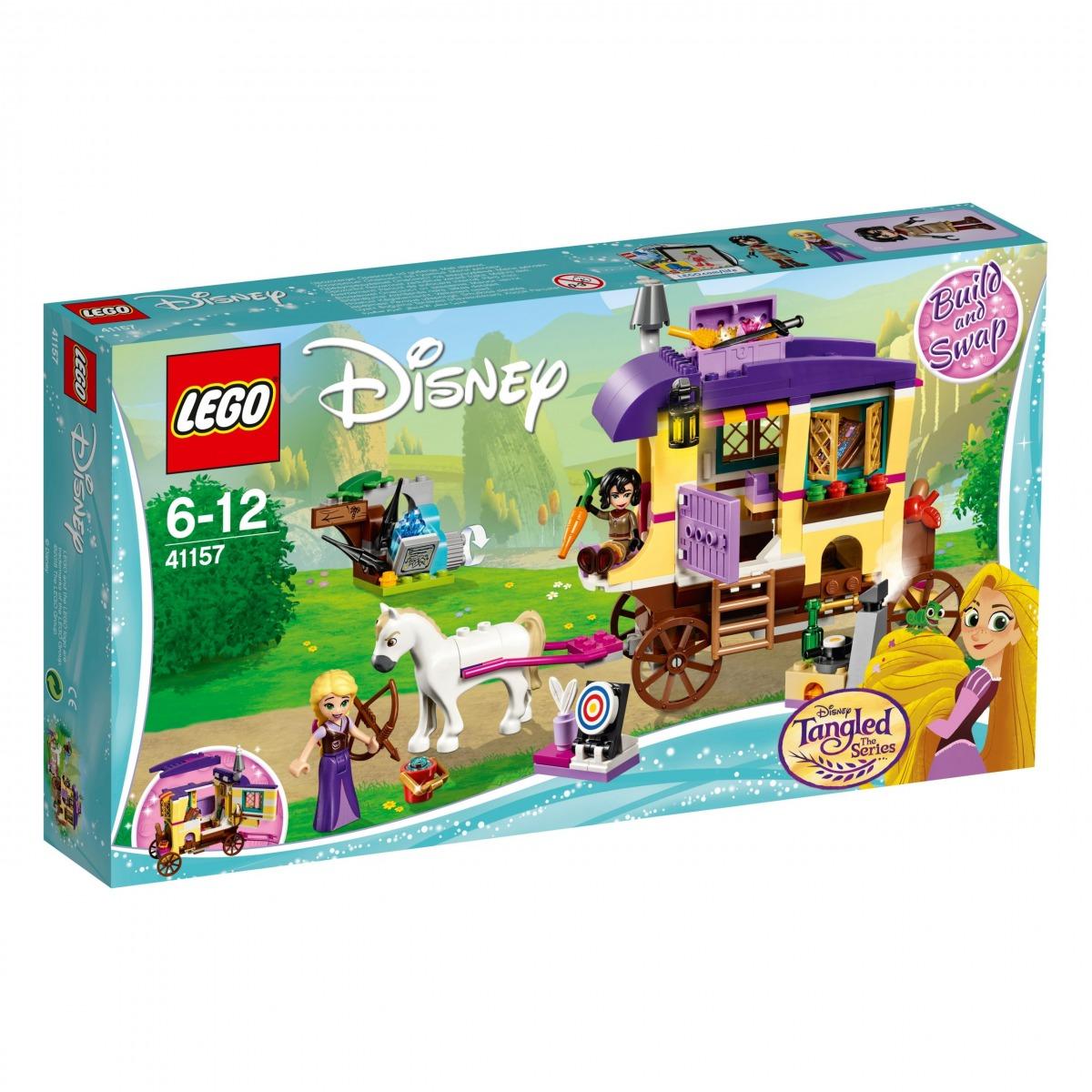 lego 41157 rapunzels traveling caravan scaled