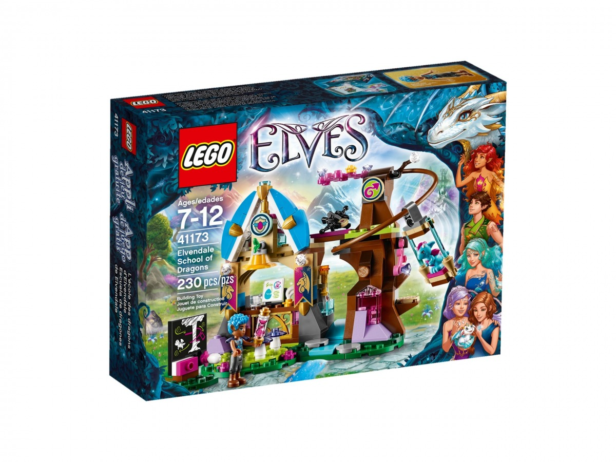 lego 41173 elvendale school of dragons scaled