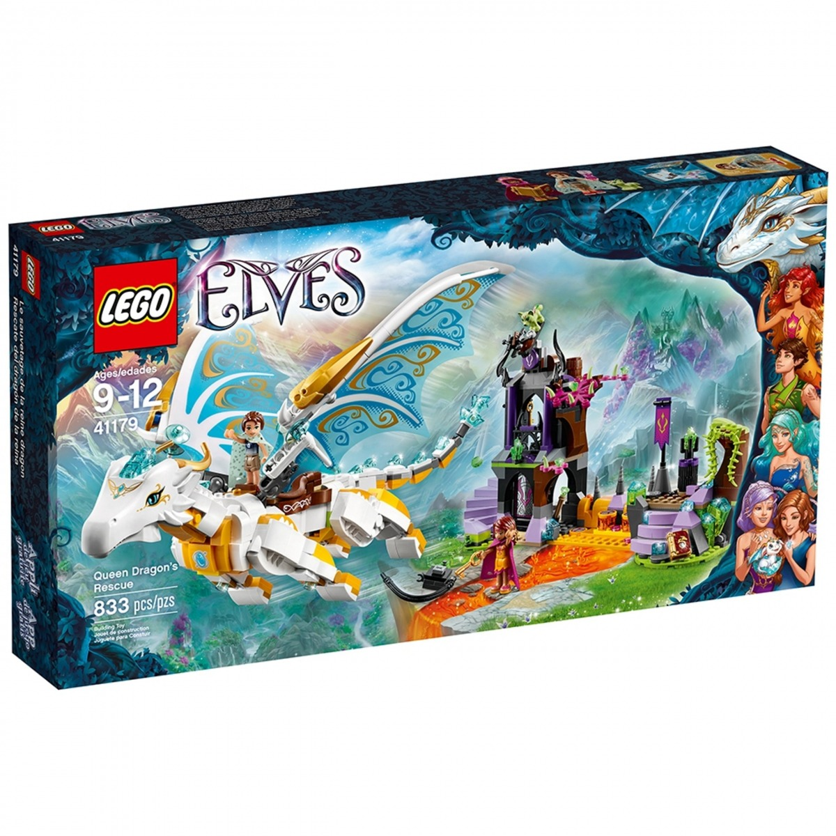 lego 41179 queen dragons rescue scaled