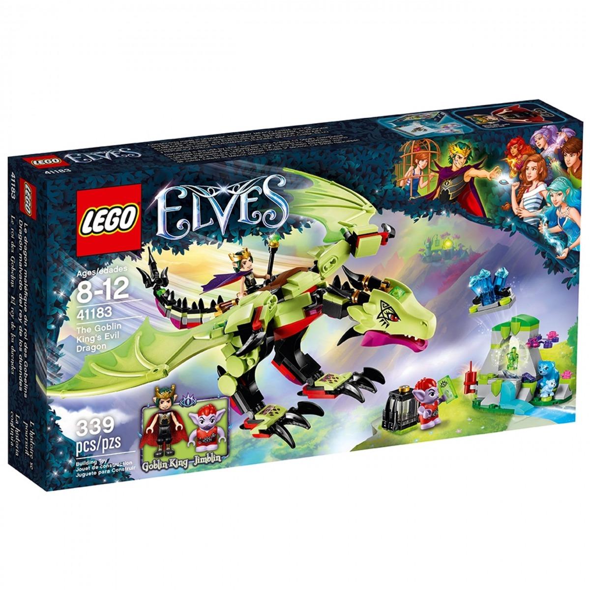 lego 41183 the goblin kings evil dragon scaled
