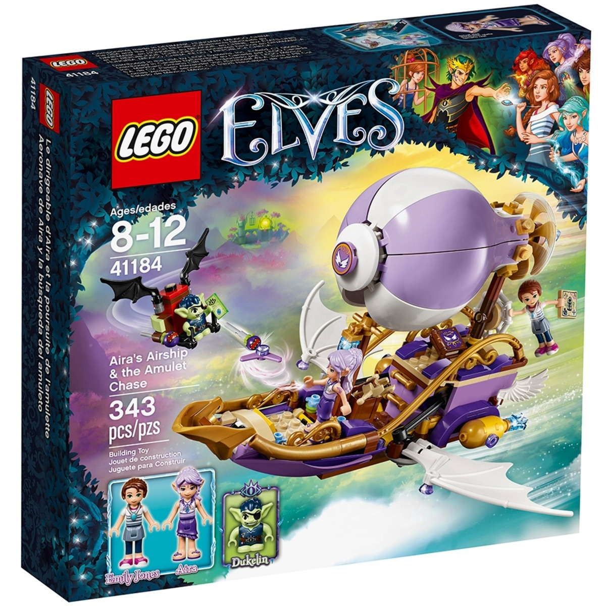 lego 41184 airas airship the amulet chase scaled