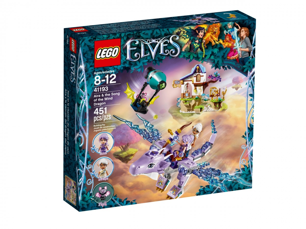 lego 41193 aira the song of the wind dragon scaled