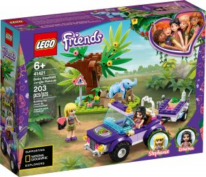 lego 41421 baby elephant jungle rescue