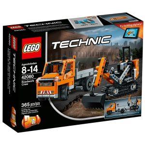 lego 42060 roadwork crew