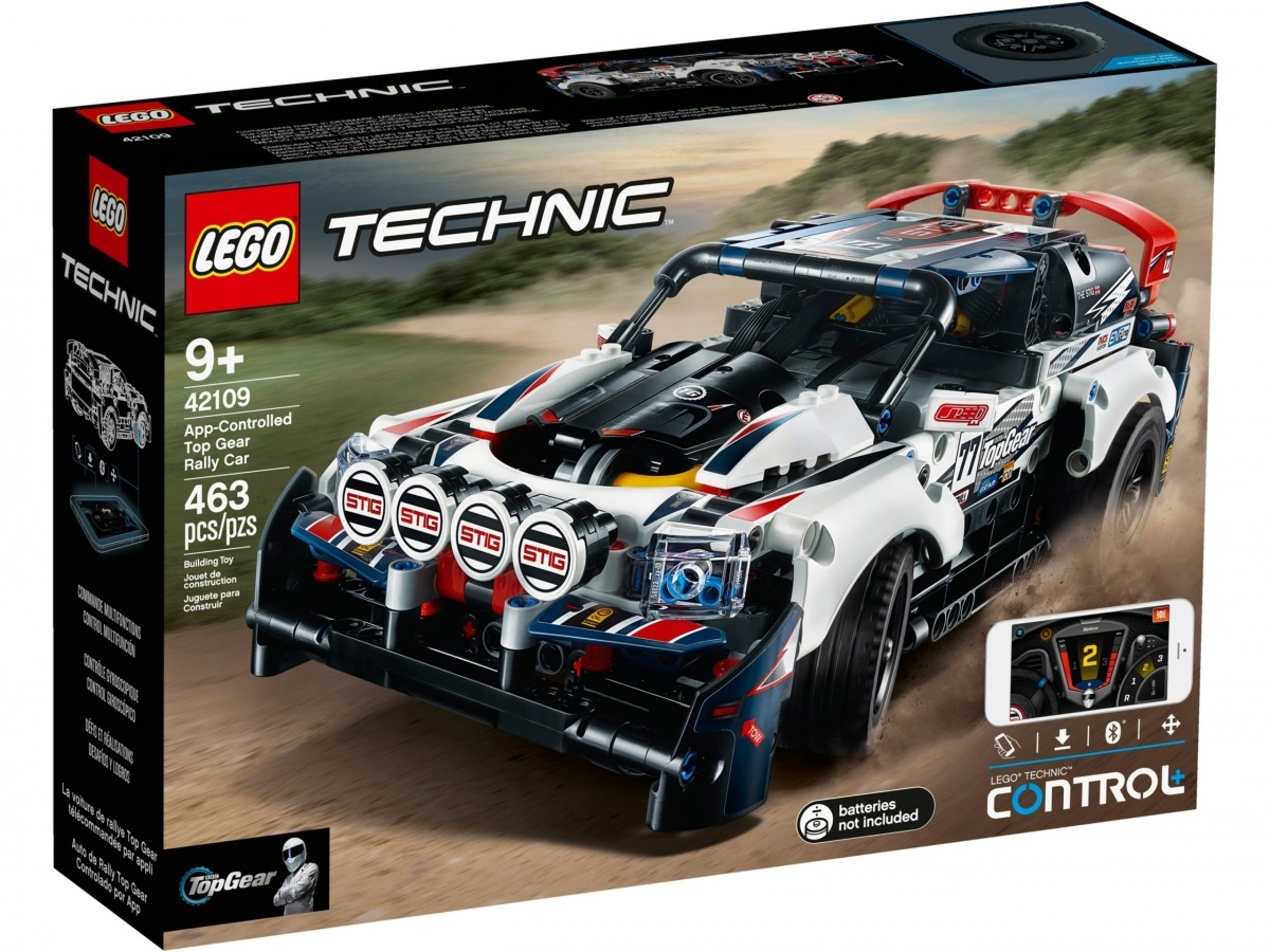lego 42109 app controlled top gear rally car scaled