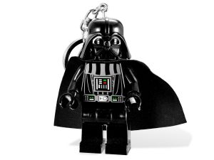 lego 5001159 star wars darth vader light keyring