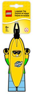 lego 5005580 banana guy luggage tag
