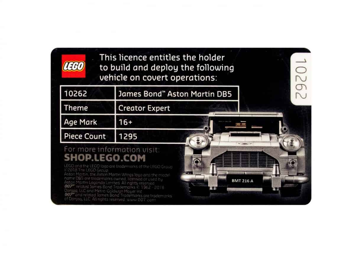 lego 5005665 licence to build scaled