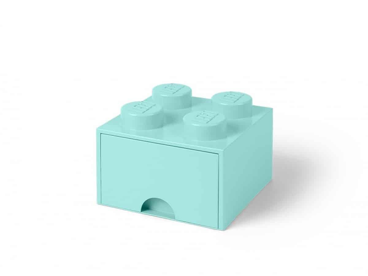 lego 5005714 4 stud aqua light blue storage brick drawer scaled