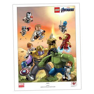 lego 5005881 avengers endgame art print 2 of 3