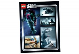 lego 5005888 collectible star wars 20th anniversary art print