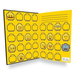 lego 5005900 minifigure notebook
