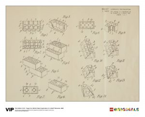 lego 5006004 1st edition print british patent 1968