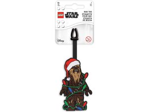 lego 5006032 holiday bag tag chewbacca