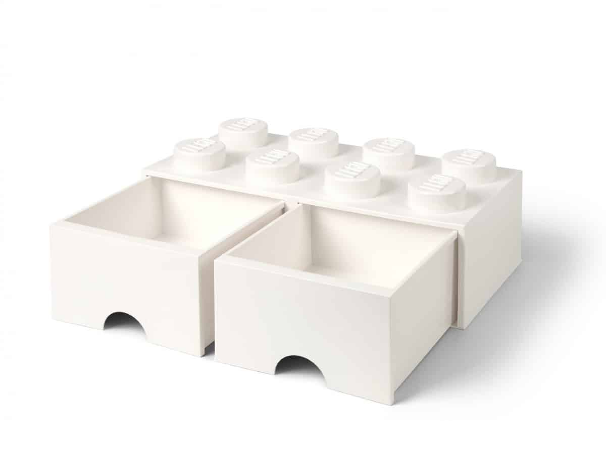 lego 5006209 8 stud white storage brick drawer scaled