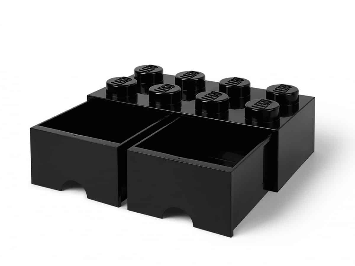 lego 5006248 8 stud black storage brick drawer scaled