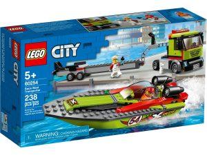 lego 60254 race boat transporter