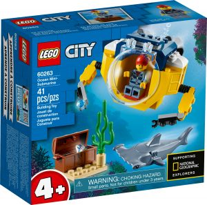 lego 60263 ocean mini submarine
