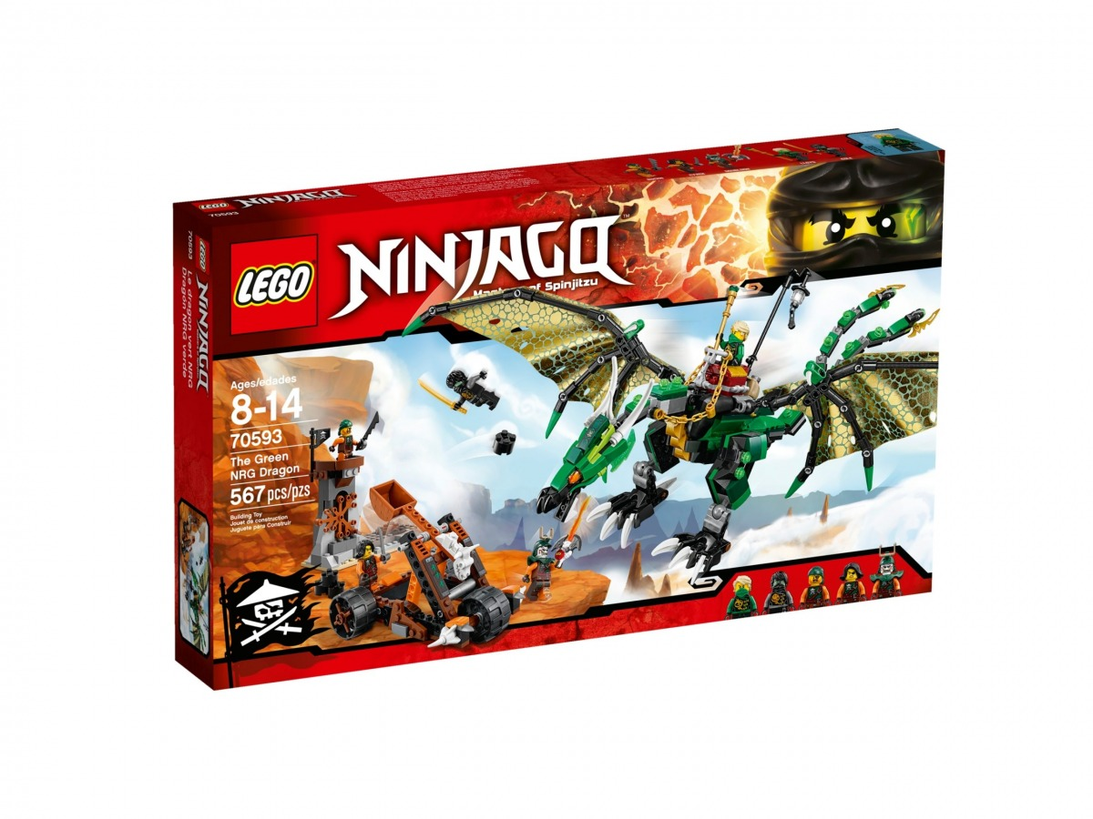 lego 70593 the green nrg dragon scaled