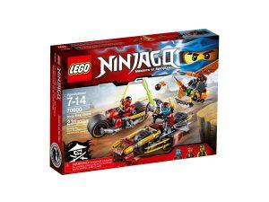 lego 70600 ninja bike chase