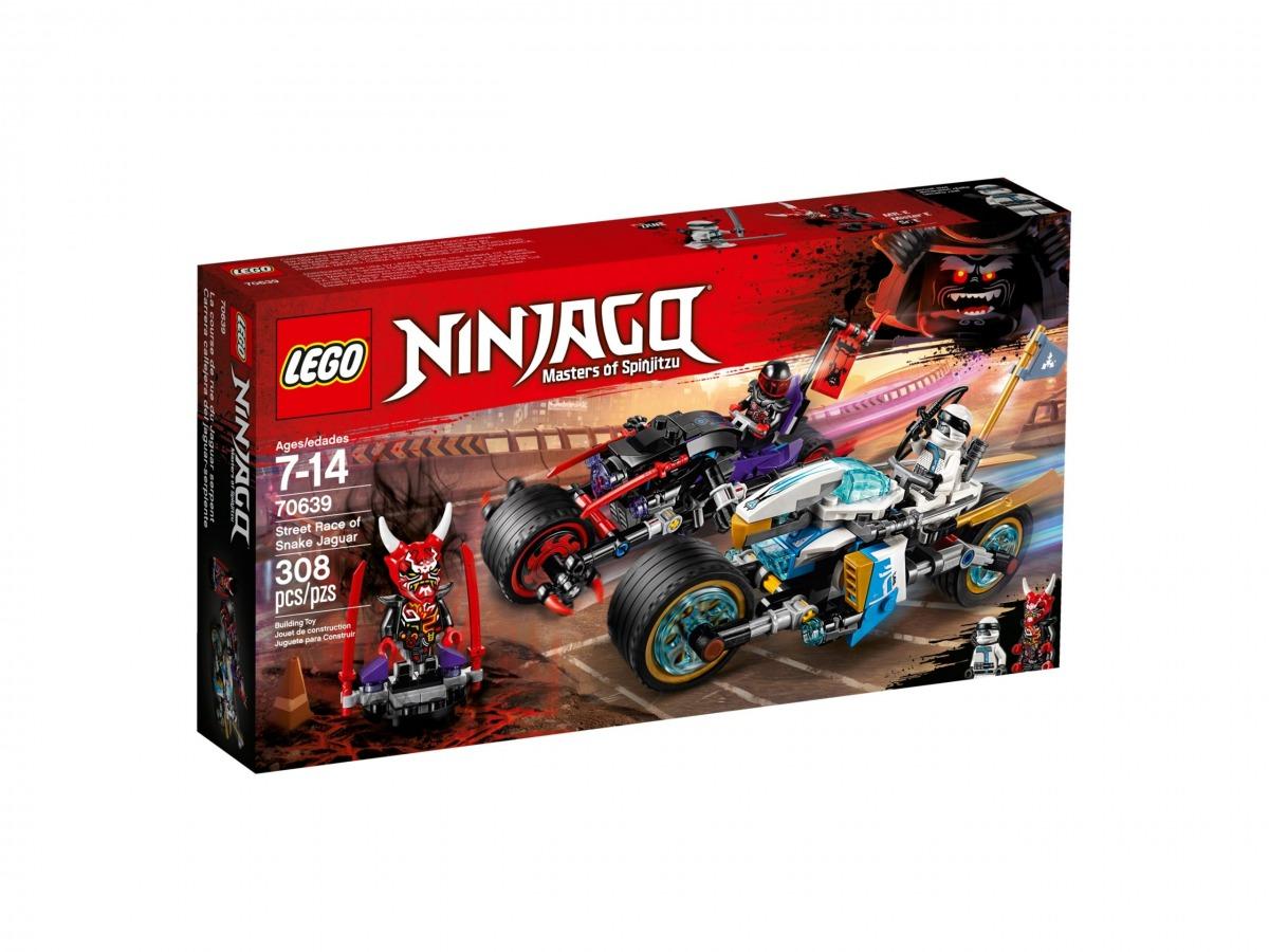 lego 70639 street race of snake jaguar scaled