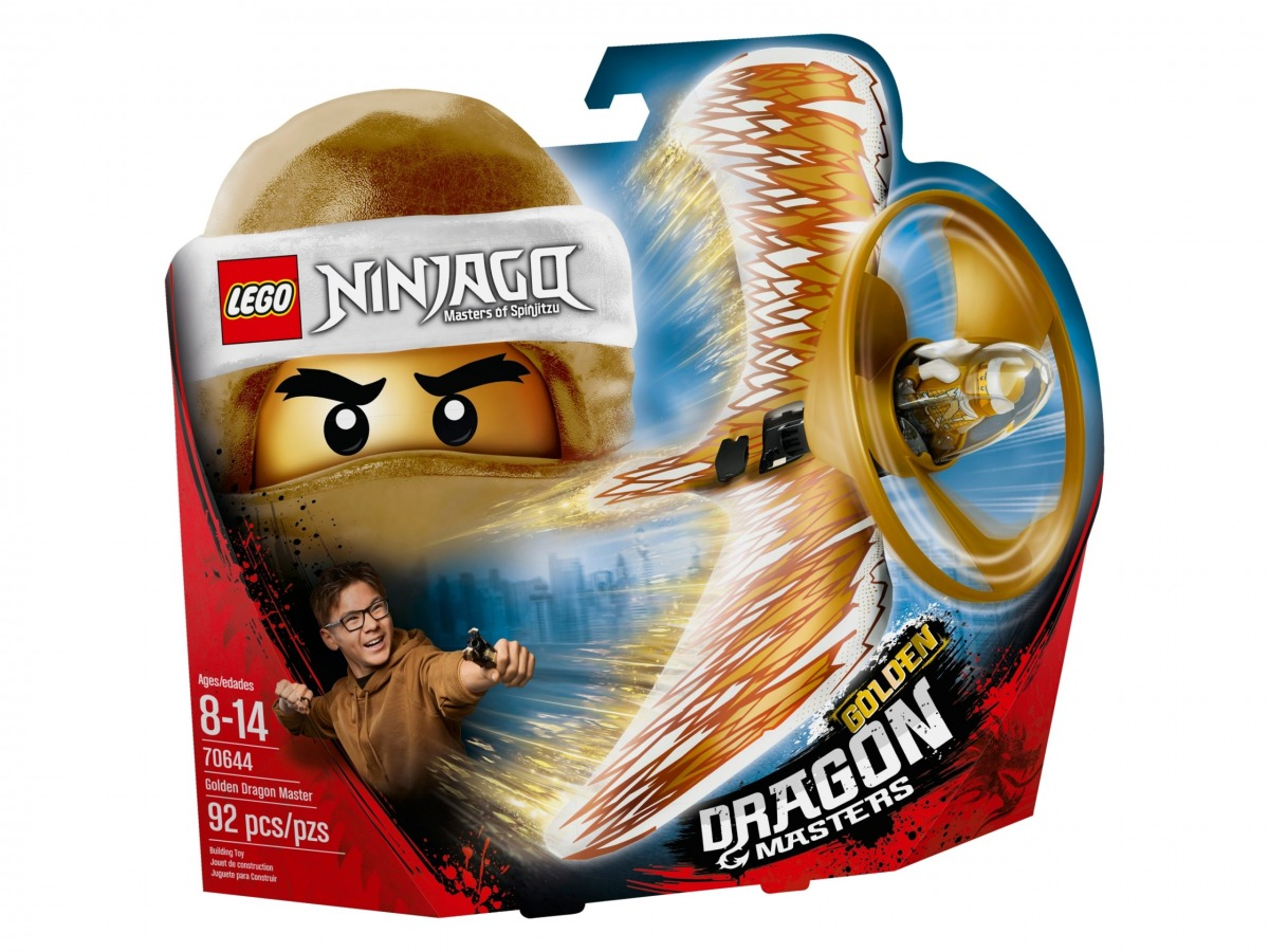lego 70644 golden dragon master scaled