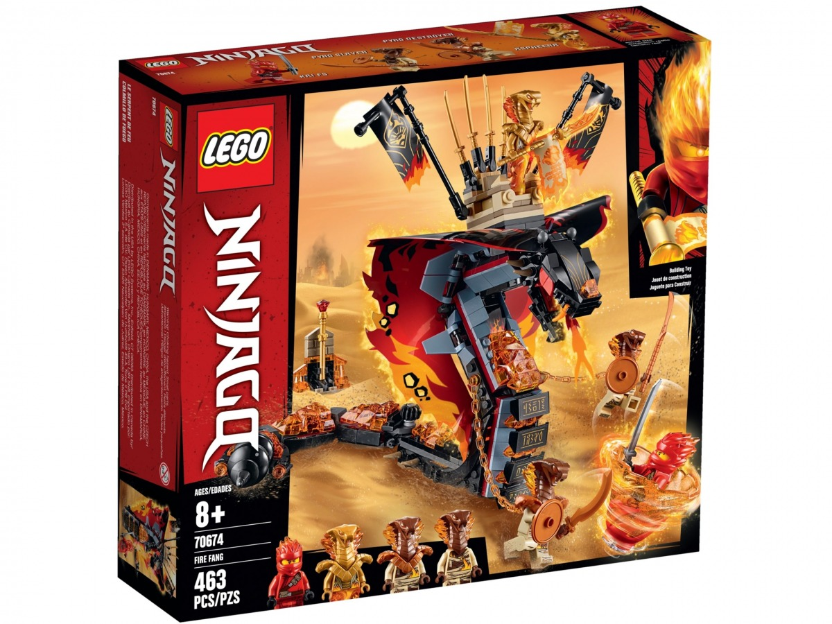 lego 70674 fire fang scaled