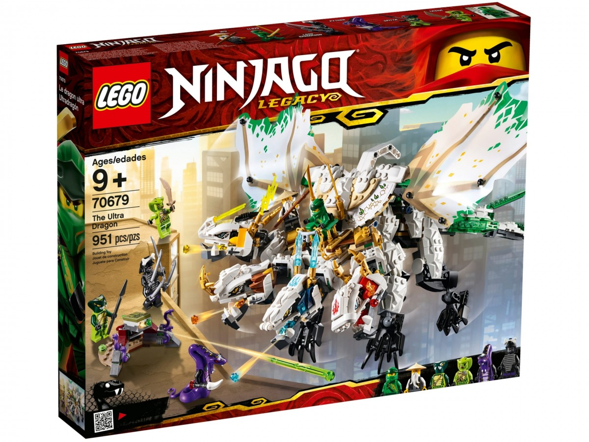 lego 70679 the ultra dragon scaled