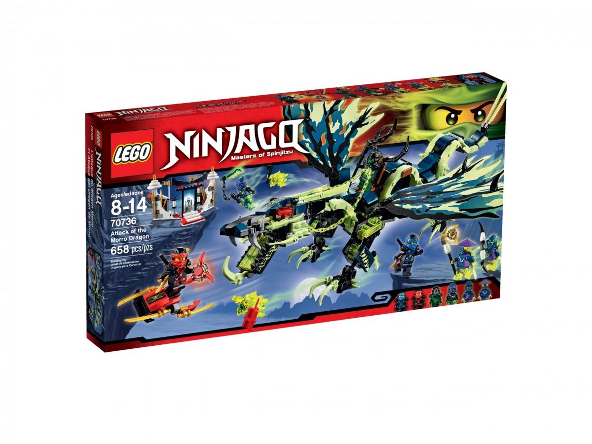 lego 70736 attack of the morro dragon scaled