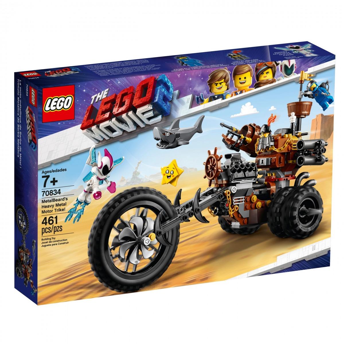 lego 70834 metalbeards heavy metal motor trike scaled