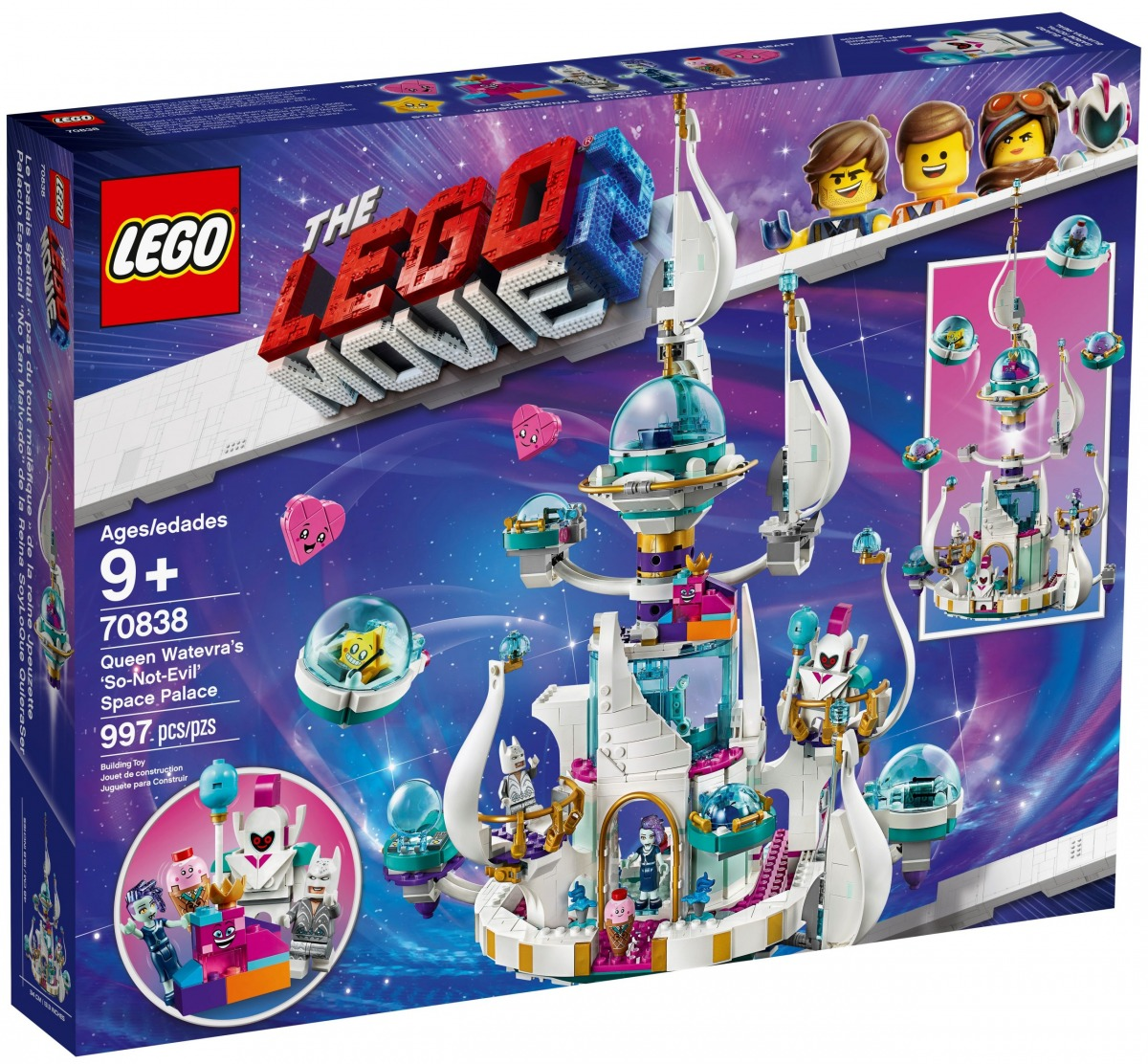 lego 70838 queen watevras so not evil space palace scaled