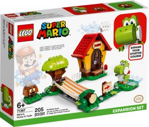 lego 71367 marios house yoshi expansion set