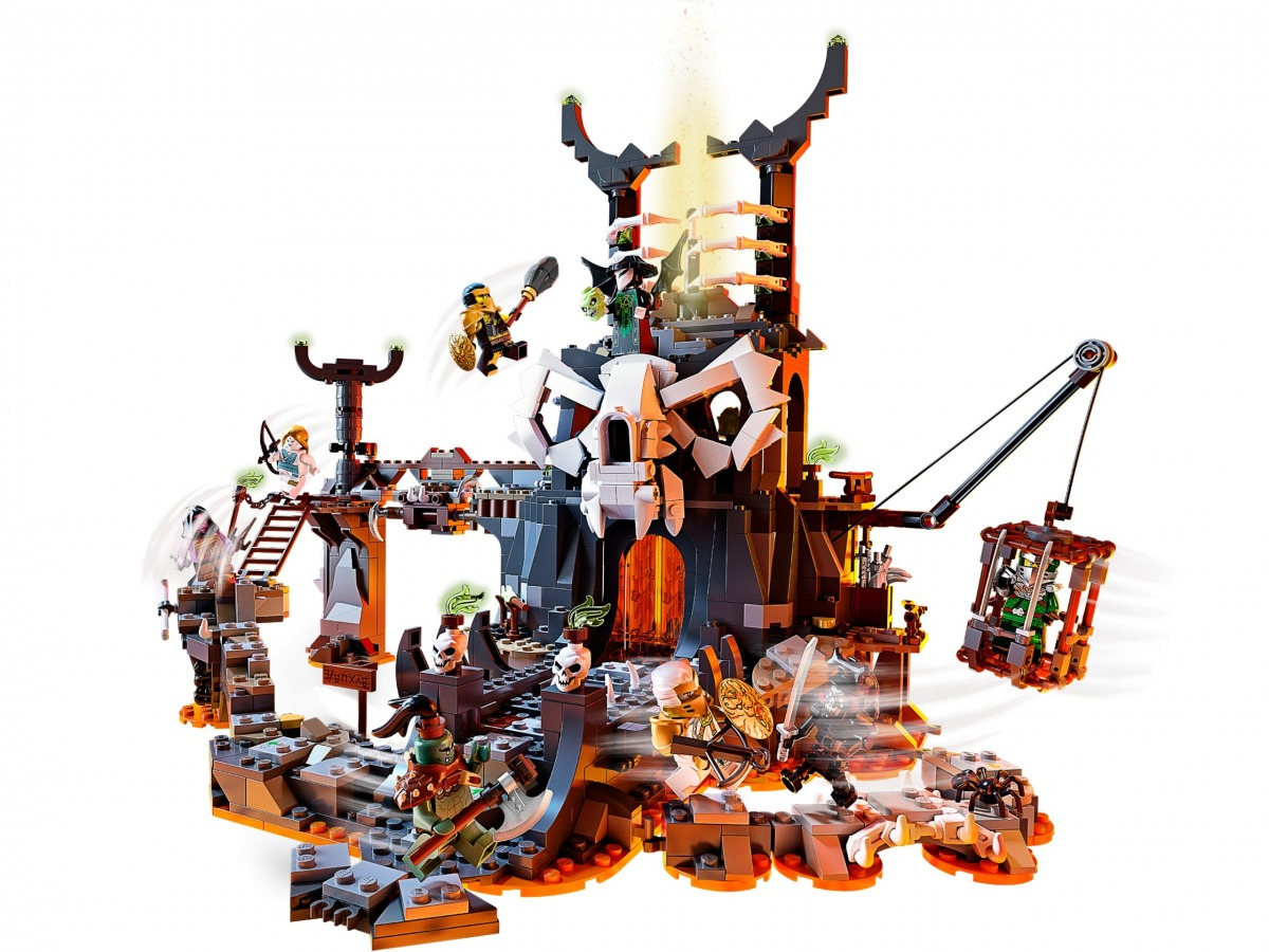 lego 71722 skull sorcerers dungeons scaled