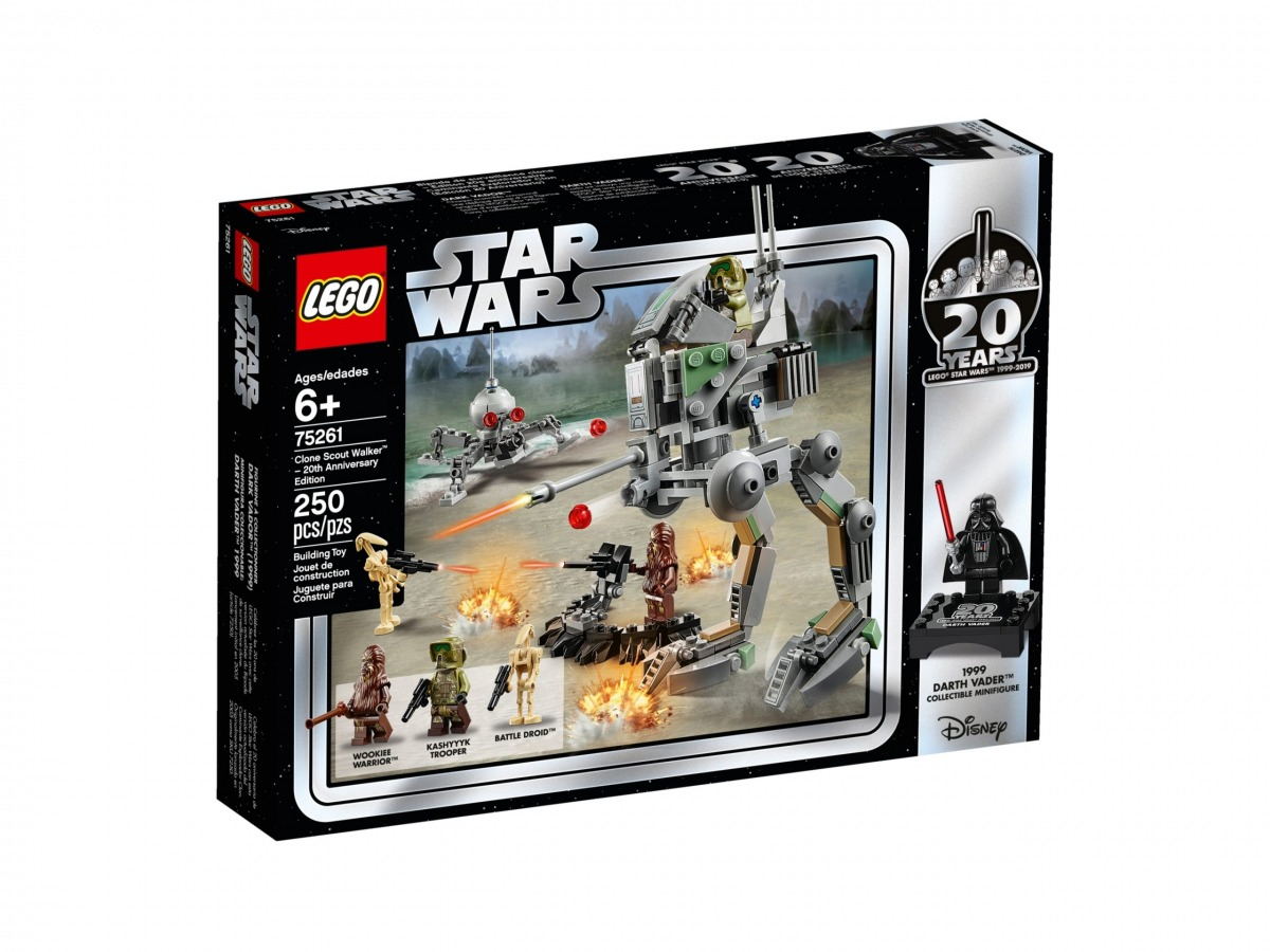 lego 75261 clone scout walker 20th anniversary edition scaled