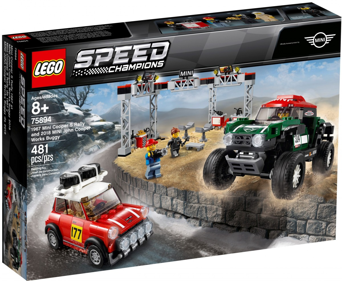 lego 75894 1967 mini cooper s rally and 2018 mini john cooper works buggy scaled