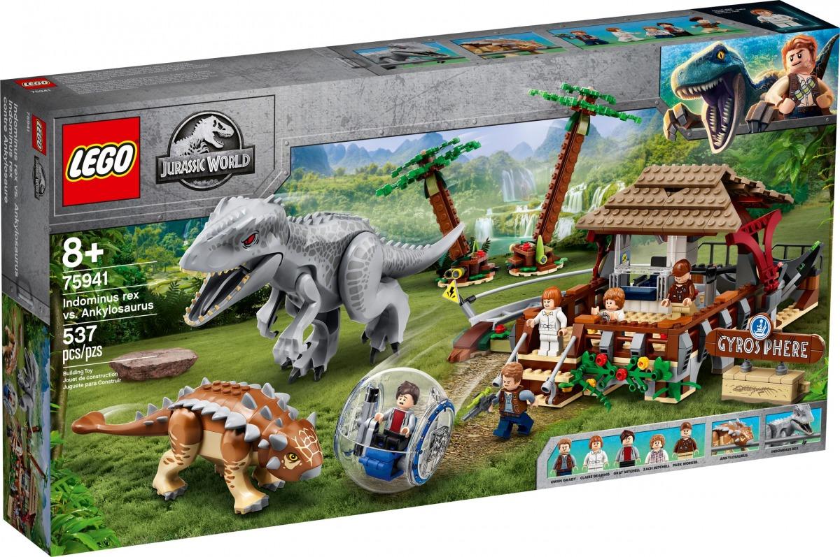 lego 75941 indominus rex vs ankylosaurus scaled