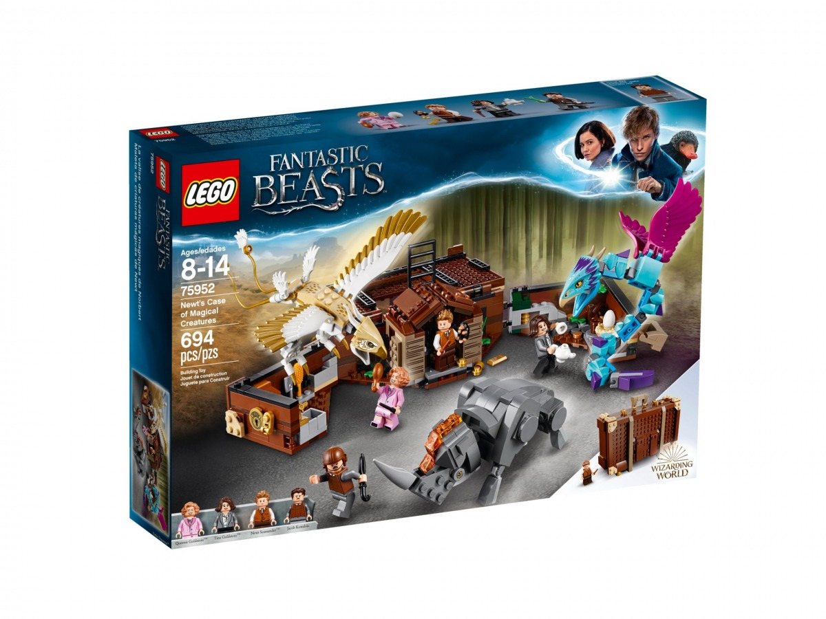 lego 75952 newts case of magical creatures scaled