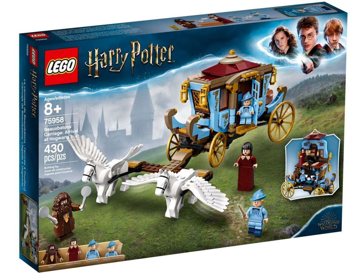 lego 75958 beauxbatons carriage arrival at hogwarts scaled