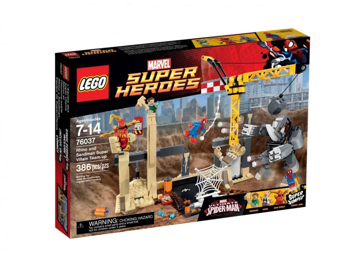 lego 76037 rhino and sandman super villain team up scaled