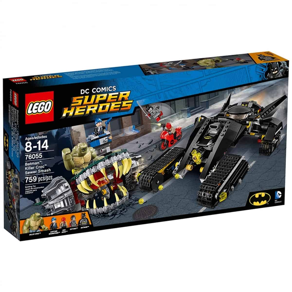 lego 76055 batman killer croc sewer smash scaled